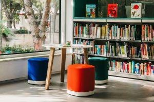 Academic Spaces seating pouf Enea
