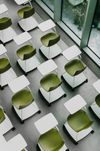 Academic Spaces seating tray chair Enea