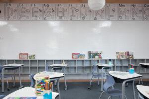 classroom design modern